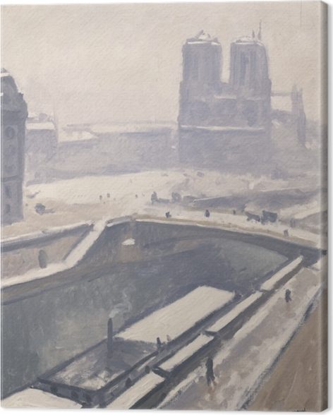 Albert Marquet - View on Notre-Dame Canvas Print - Reproductions