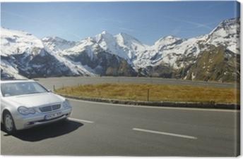 Alpen Drive Canvas Print