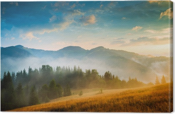 amazing mountain landscape canvas print pixers we live to change