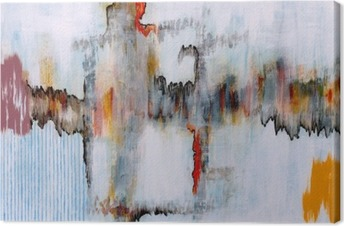 an abstract painting Canvas Print