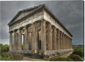 Ancient Temple of Hephaistos, Athens Canvas Print