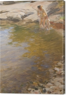 Anders Zorn - Morning Toilet Canvas Print