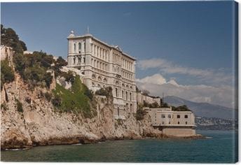 Aquarium ou Musee oceanographique de Monaco (Monte Carlo) Canvas Print