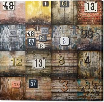 arte urbana collage Canvas Print