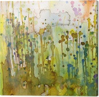 Artystyczne tło akwarelowe, Canvas Print