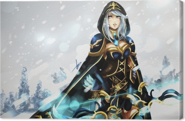 Ashe - League of Legends Canvas Print - Themes