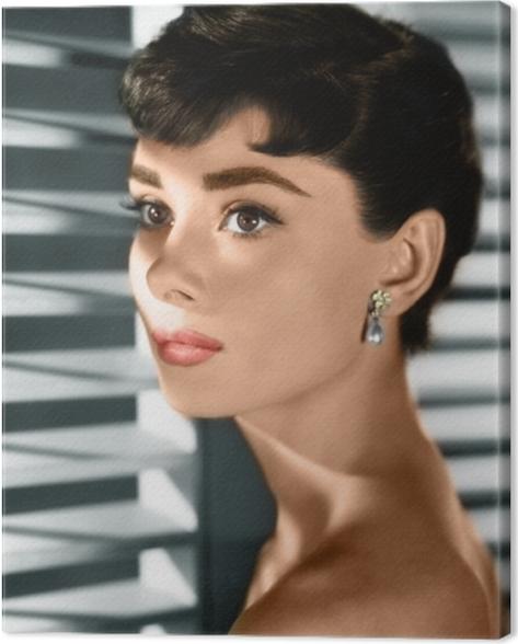 Audrey Hepburn Canvas Print - Criteo