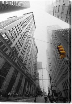 avenue new yorkaise Canvas Print