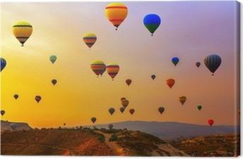 balloons CappadociaTurkey. Canvas Print