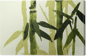 Bamboo / Texture Canvas Print