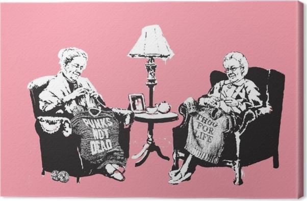 Banksy Canvas Print - Themes
