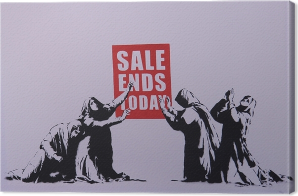 Banksy Canvas Print - Themes