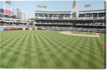Baseball Field Canvas Print