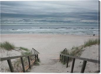 Beach - Baltic Sea Canvas Print