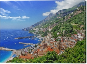 beautiful Amalfi coast, Italy Canvas Print