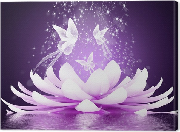 Beautiful lotus flower canvas print pixers we live to change beautiful lotus flower canvas print styles mightylinksfo
