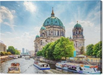 Berlin Cathedral. Berliner Dom. Berlin, Germany Canvas Print