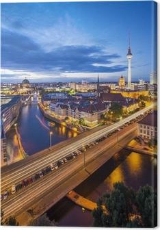 Berlin, Germany Skyline Scene Canvas Print