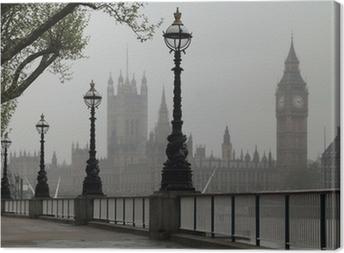 Big Ben & Houses of Parliament Canvas Print