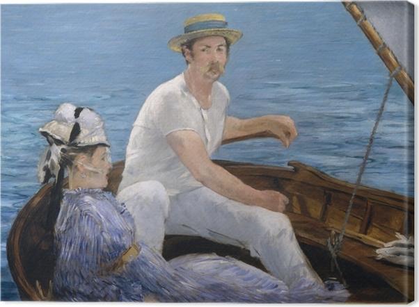 Boating Canvas Print - Impressionism