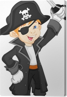 facf1f76515 boy pirate cartoon Wall Mural • Pixers® • We live to change