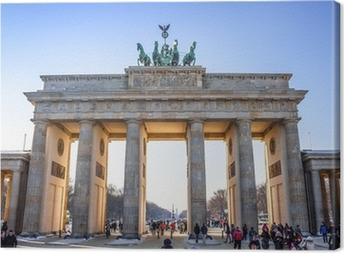 Brandenburg Gate in Berlin - Germany Canvas Print