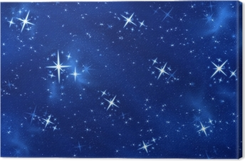 bright star Canvas Print