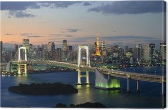 Bucht von Tokyo Canvas Print