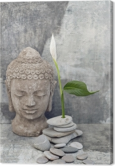 Buddha Background Canvas Print