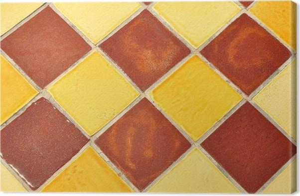 Carrelage Céramique Provence Coloré Canvas Print Pixers We Live - Carrelage i colori