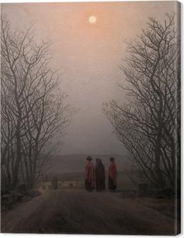 Caspar David Friedrich - Easter Morning Canvas Print