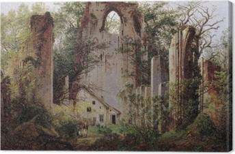 Caspar David Friedrich - Monastery ruin Eldena Canvas Print