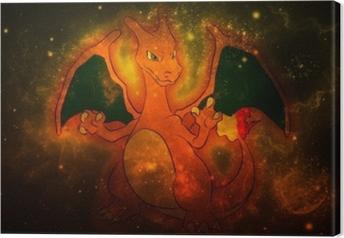 Charizard Canvas Print