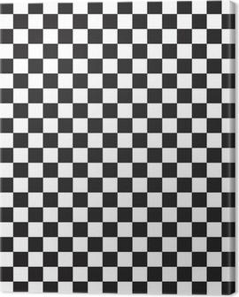 checker flag Canvas Print