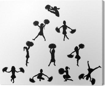Cheerleader Pyramid 2 Wall Mural • Pixers® - We live to change