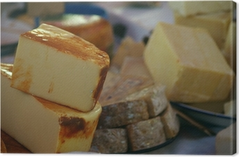 cheeses Canvas Print