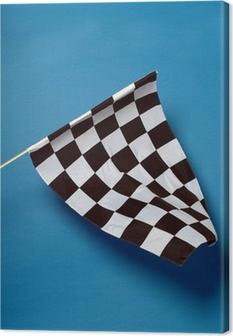 Chequered Flag Canvas Print