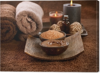 Chocolate Spa Canvas Print
