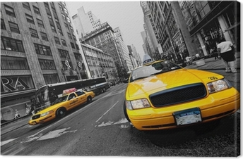 Circulation à new york Canvas Print