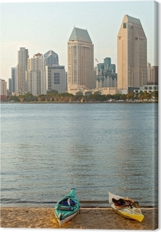 City of San Diego California, USA Canvas Print