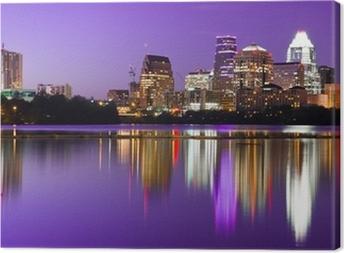 City Skyline - Austin, TX Canvas Print