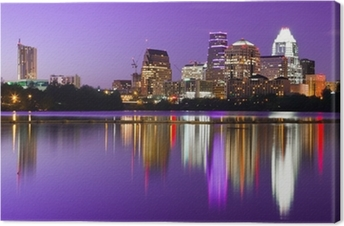 City Skyline - Austin, TX Canvas Print