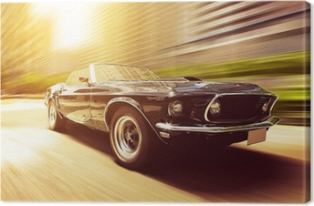 Classic Cabriolet Canvas Print