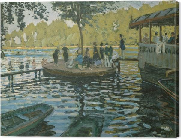 Claude Monet - La Grenouillère Canvas Print - Reproductions