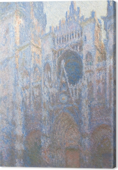 Claude Monet - Rouen Cathedral Canvas Print - Reproductions