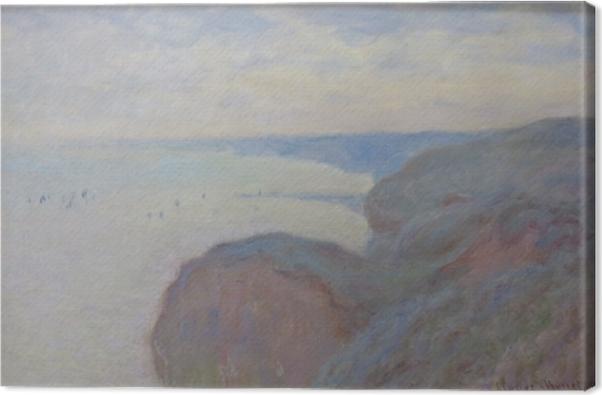 Claude Monet - Steef Cliffs near Dieppe Canvas Print - Reproductions