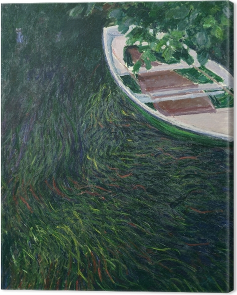 Claude Monet - The Boat Canvas Print - Reproductions