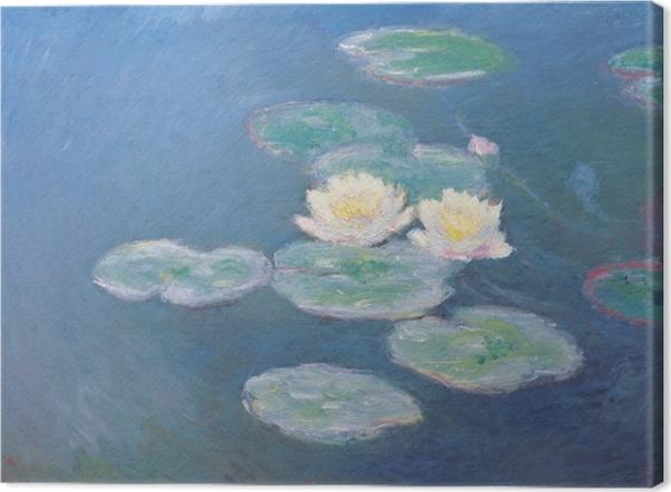 Claude Monet - Waterlilies Canvas Print - Reproductions