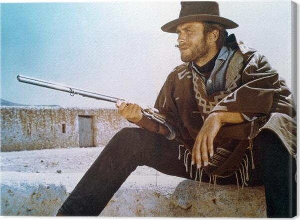 Clint Eastwood Canvas Print - Criteo
