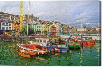 Cobh in Ireland Canvas Print